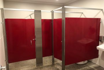 Brewery - 2 Tone Toilet Partitions - Northern CA